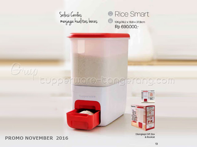 Rice Smart Promo Tupperware November 2016