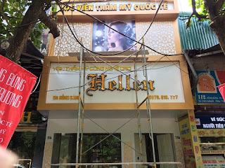 Lắp đặt biển quảng cáo tại TP Vinh, Nghệ An