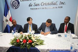 CAMARA DE COMERCIO  DE SAN CRISTOBAL FIRMA ACUERDO CON CAMARA INDUSTRIA Y COMERCIO DE BRASIL-CHINA