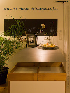 DIY - Magnettafel Küche - do it yourself