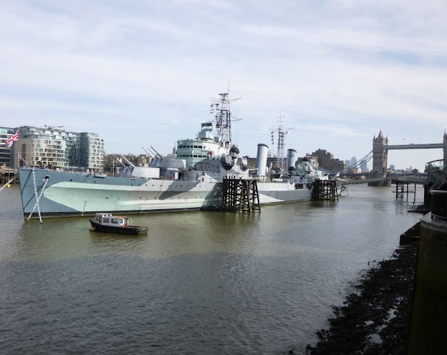 http://bugsandfishes.blogspot.co.uk/2015/03/hms-belfast-st-katharine-docks.html