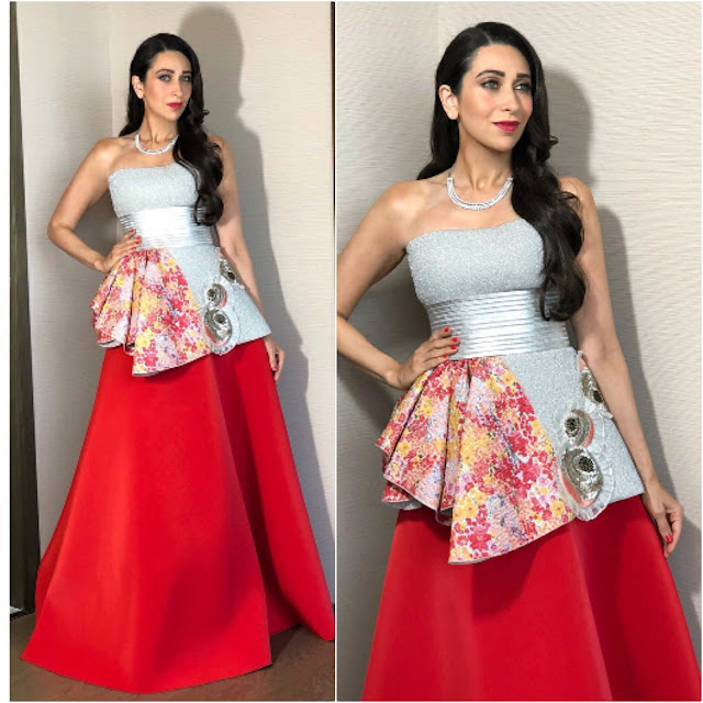 Karisma Kapoor in Amit Aggarwal Outfit