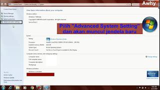 Cara Terbaik Mempercepat Kinerja Komputer/Laptop Pada Windows 7
