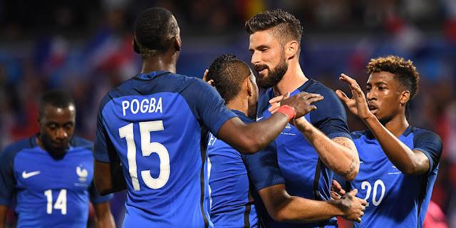 Jadwal 16 Besar Euro 2016: Prancis Dapat Satu Tempat