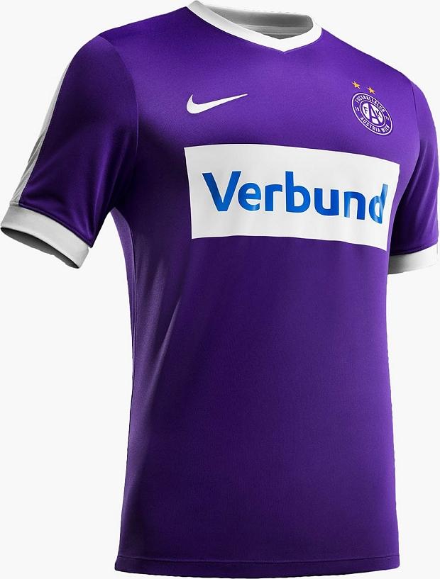 1405764275 Nike lança a nova camisa titular do Austria Viena - Show de Camisas