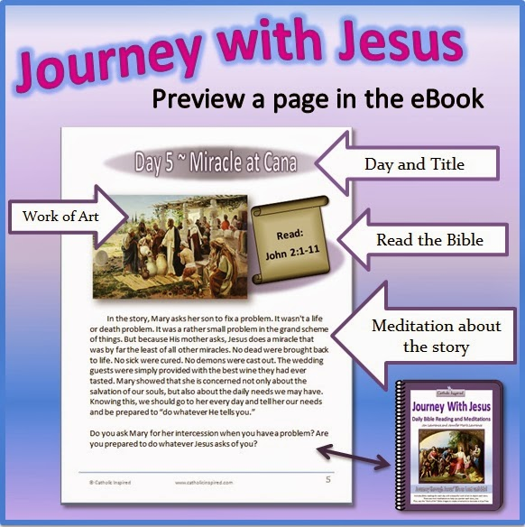 Journey with Jesus Bible Reading and Meditation eBook ~ Plus Jesus Tree  File and Journey Page