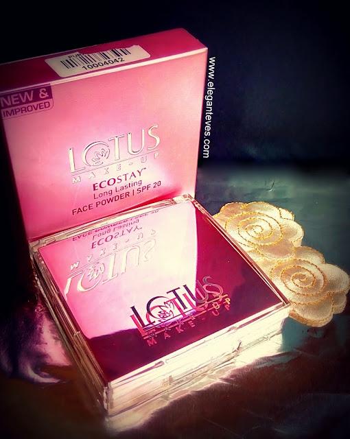 Lotus Ecostay Long Lasting Face Powder-SPF 20 #Royal Ivory