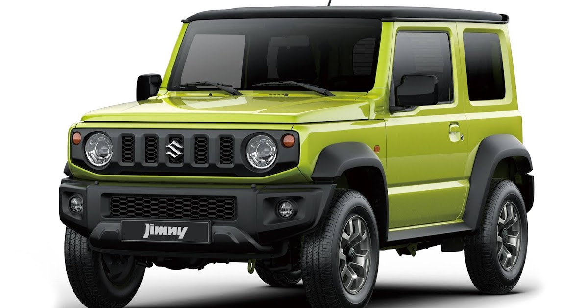 novo suzuki jimny 2019 fotos oficiais divulgadas car blog br. Black Bedroom Furniture Sets. Home Design Ideas