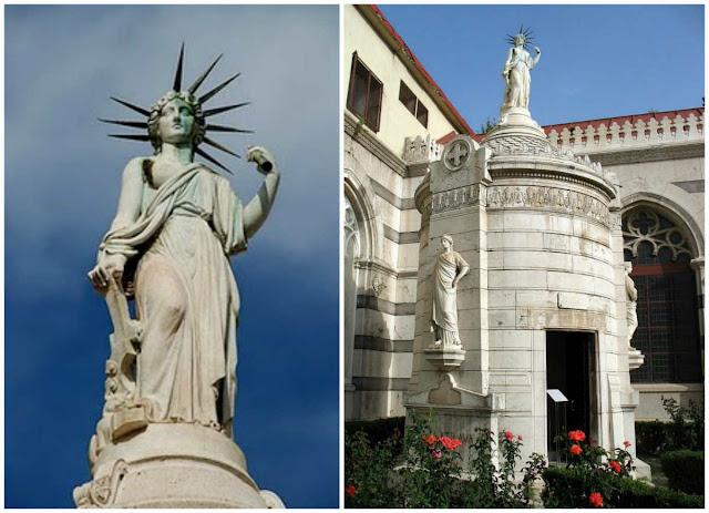 Sabías que la estatua de la libertad