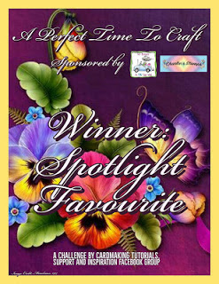 WINNER SPOTLIGHT FAVOURITE OVER AT A PERFECT TIME TO CRAFT CHALLENGE