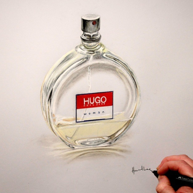10-Hugo-Boss-for-Women-Howard-Lee-Time-Lapse-Videos-of-Drawings-and-Paintings-www-designstack-co