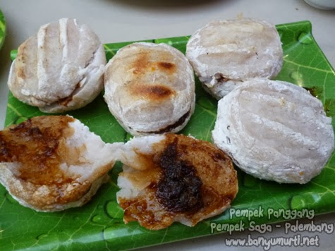 Kuliner Palembang Lenggang Dan Pempek Panggang Saga