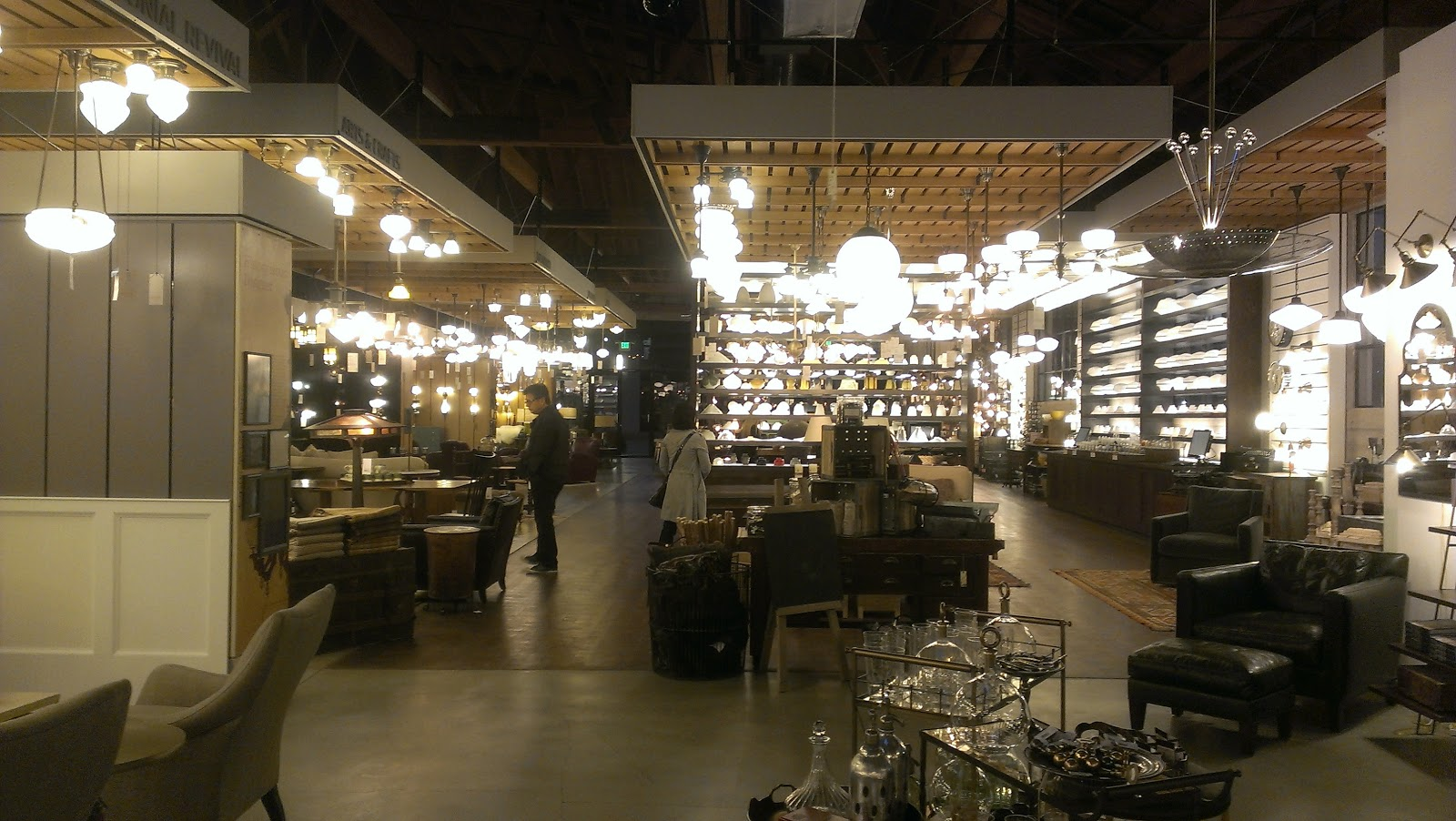 a hint of mustard.: rejuvenation : lighting and hardware.