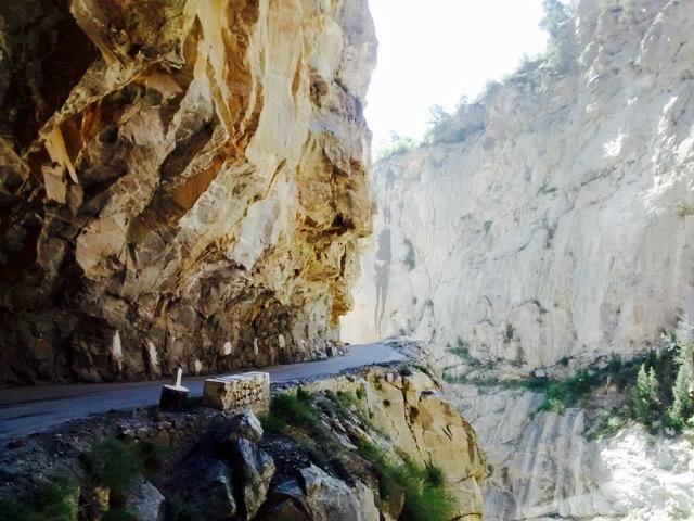 treacherous road