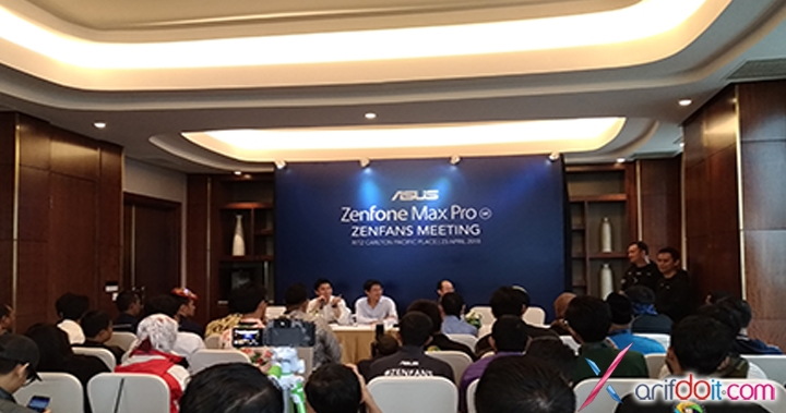 Zenfans Meeting Launching Zenfone Max Pro M1