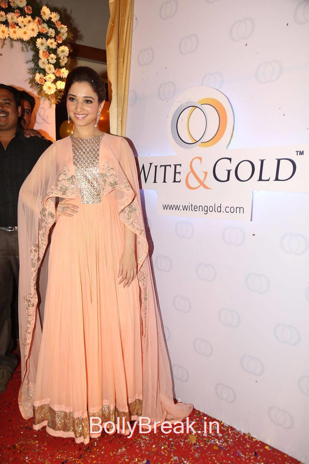 Telugu Actress Tamanna, Tamanna Bhatia Whitegold.Com Venture launch Pics