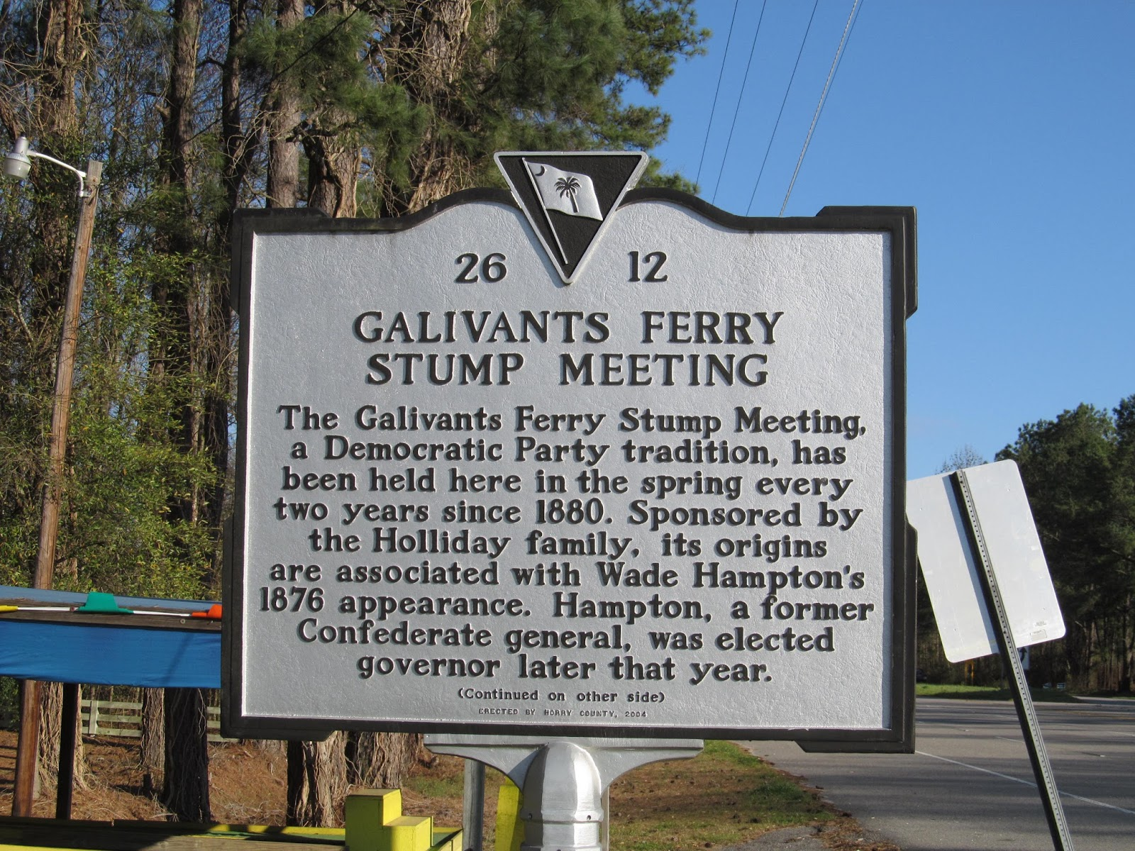 galivants ferry divorced singles personals Galivants ferry is one of several historical districts registered in horry county in 2001, this district was placed in the national register of historic places two historic markers summarizing the community's transportation, political and architectural significance, dating from 1792, have been placed to commemorate the galivants ferry and the.