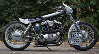 sportster xlh 1972 cafe dragster by elkabikes side right