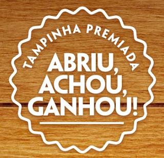 Promoção Abriu Achou Ganhou Cerveja Grátis 2017 Tampinha Premiada