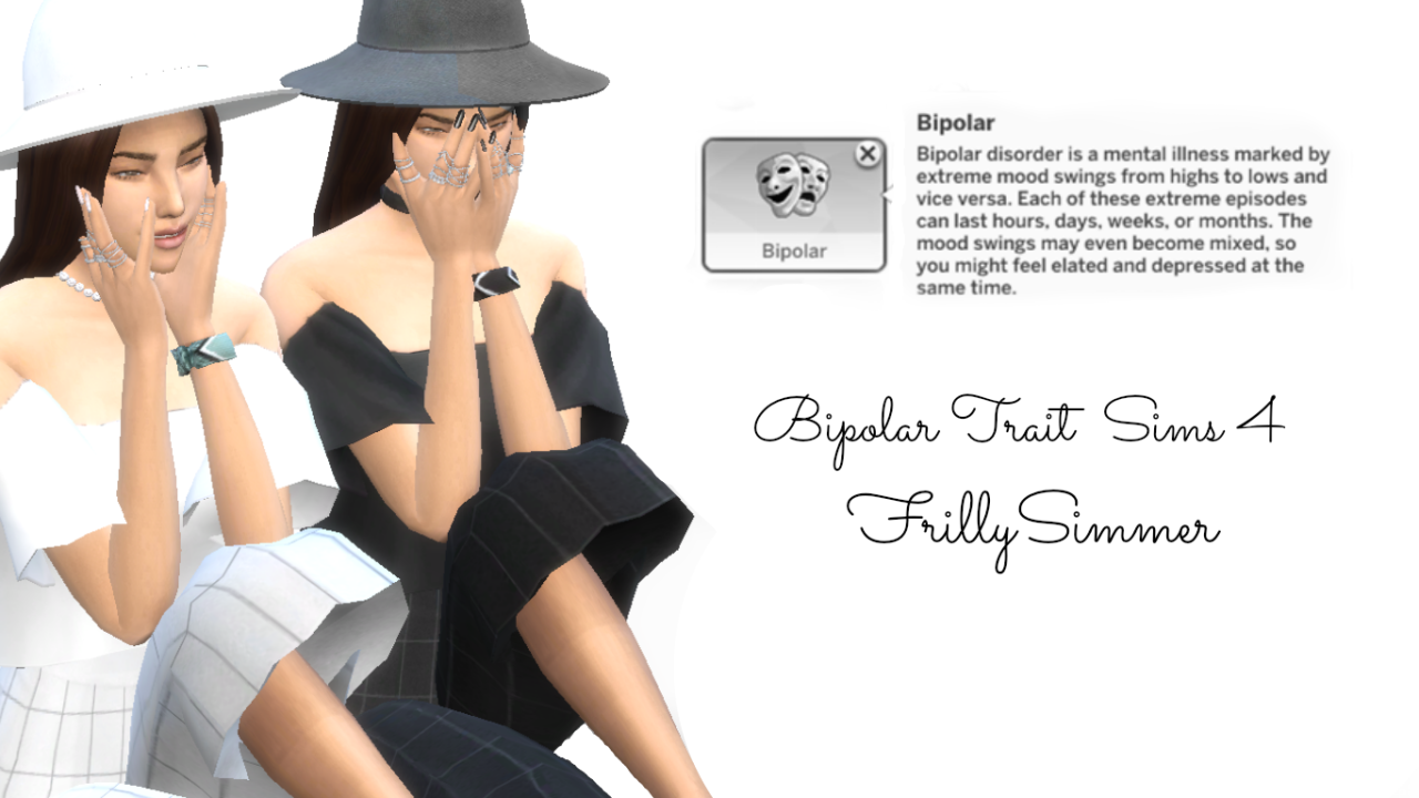 My Sims 4 Blog: Bipolar Trait by FrillySimmer