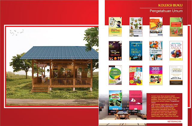 Buku Pengetahuan Umum Untuk Perpustakaan Desa