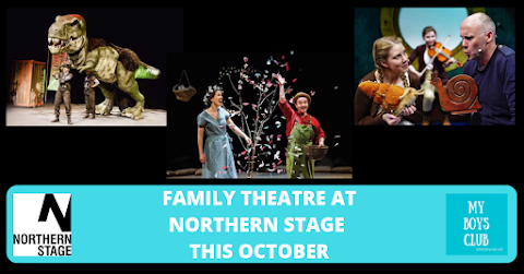 Family Theatre at Northern Stage this October (AD)