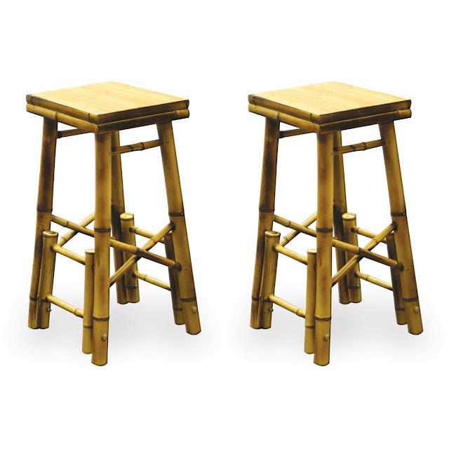 Bamboo Bar Stools ~ Bamboo Craft Photo