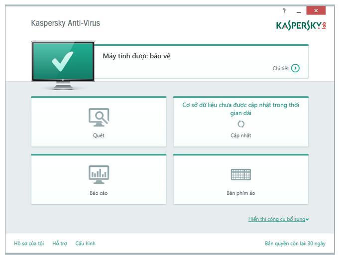Hướng dẫn tải và cài đặt Kav 2015, Kis 2015 Full Tiếng Việt