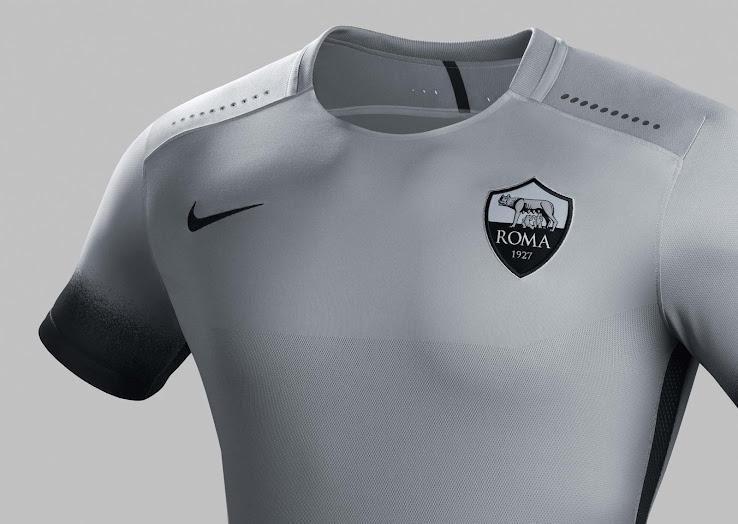 e5f3038fe26 AS Roma 15-16 Third Kit Released - Footy Headlines