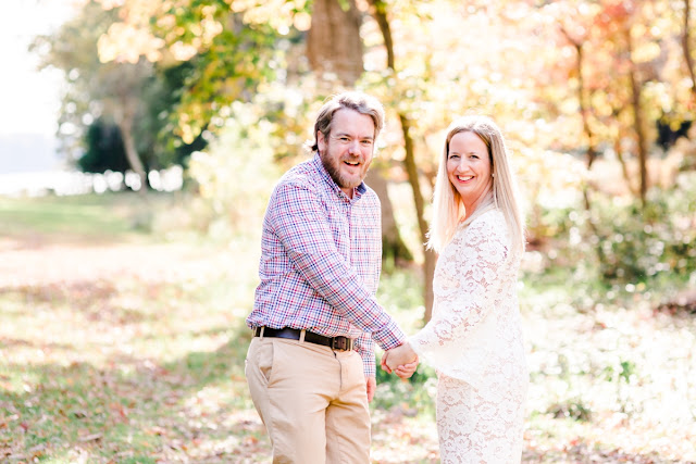 Quiet Waters Park Annapolis MD Fall Engagement Session Photos by Maryland Wedding Photographer Heather Ryan Photography