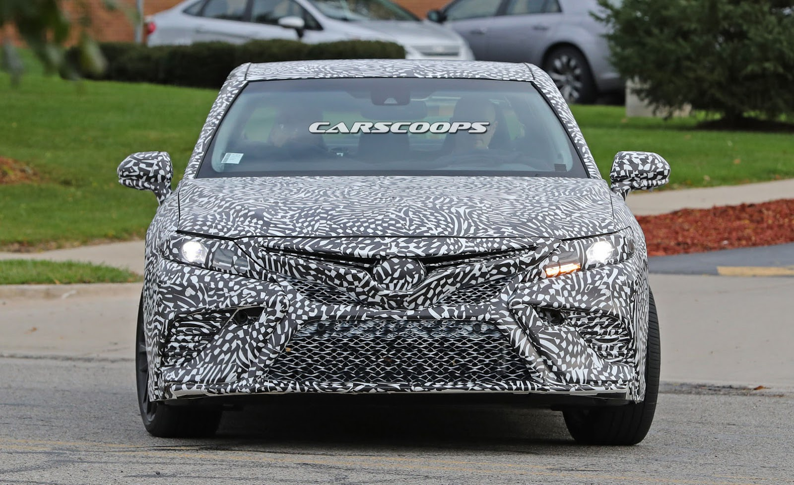 Interior New Yaris Trd 2018 Agya 1.2 G Mt Spied: Is Toyota Cooking A Camry Performance ...