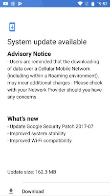 Nokia 6 Android Security Update