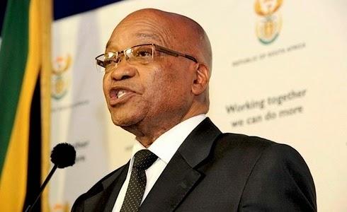 Presidente de Sudáfrica Jacob Zuma