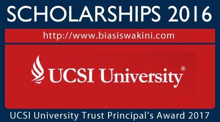 UCSI University Trust Principals Award 2017