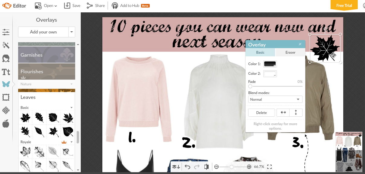 How To Use PicMonkey For Your Blog Edit