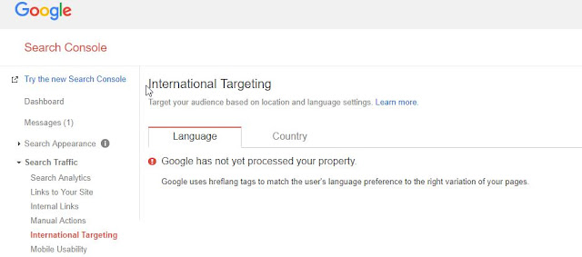 How to Add Hreflang Language Tag to Blogger blog