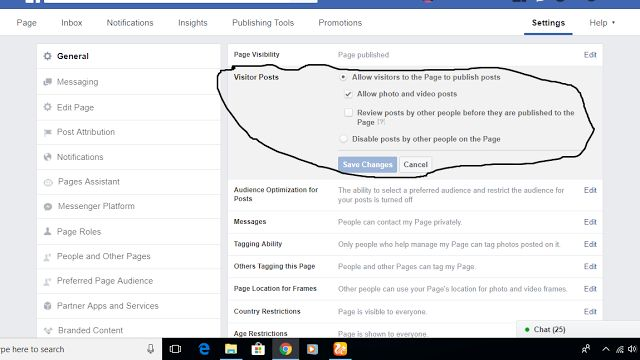 Step%2B5 - Secret Guide: How to Stop Visitor Posts on Facebook Business Page