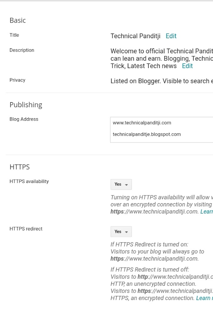 How to setting on Blogger , Tutorial Part-2