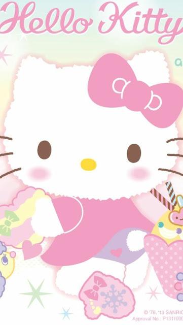 Hình nền điện thoại Hello Kitty siêu dễ thương cực kute