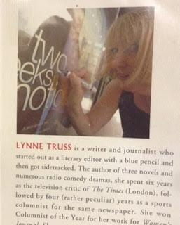 Lynne Truss jacket photo