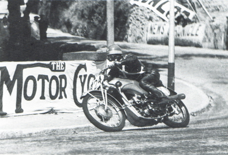 Ewald Kluge ULd 250 Isle of Man TT