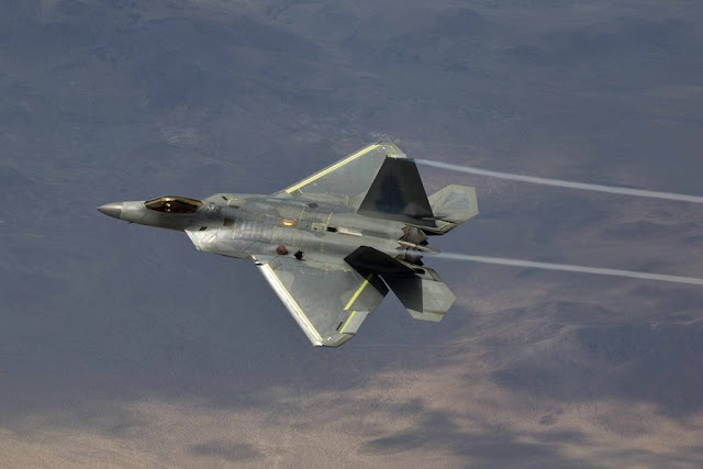 Oldest F-22 Raptor takes sky again