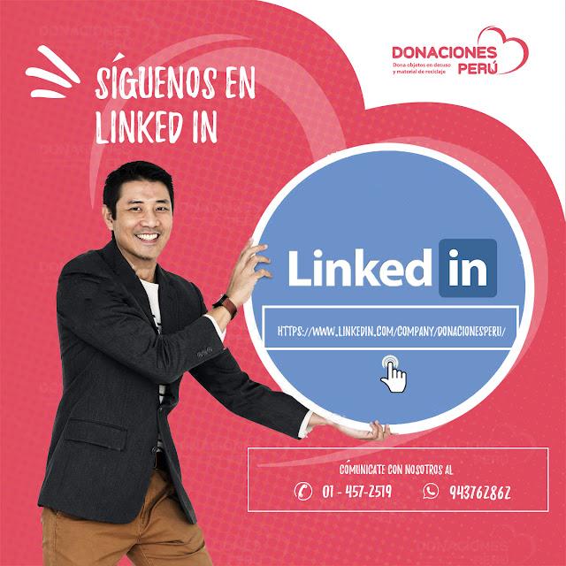 linked_in_Donaciones_Peru