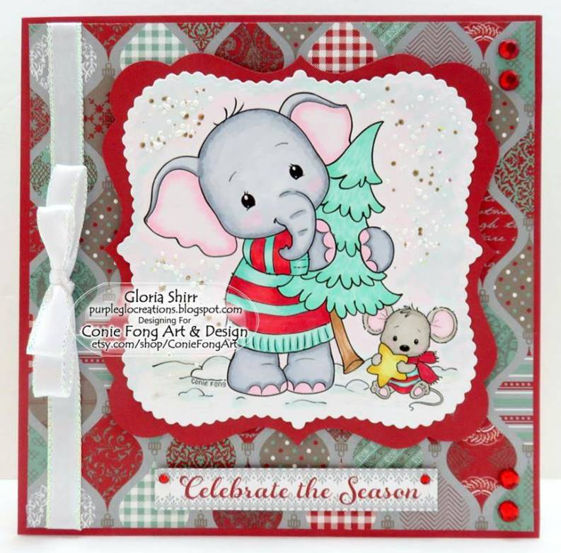 Featured Card at Crafting From The Heart Challenge