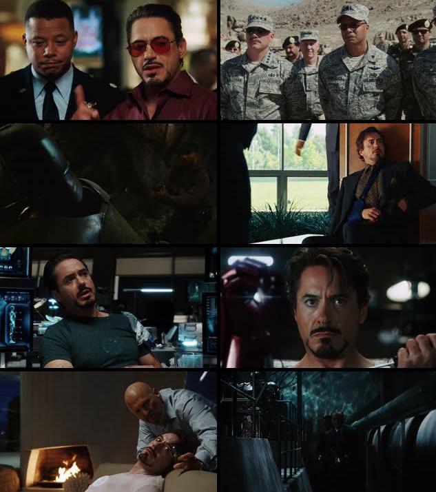 Iron Man 2008 Dual Audio Hindi 480p BRRip