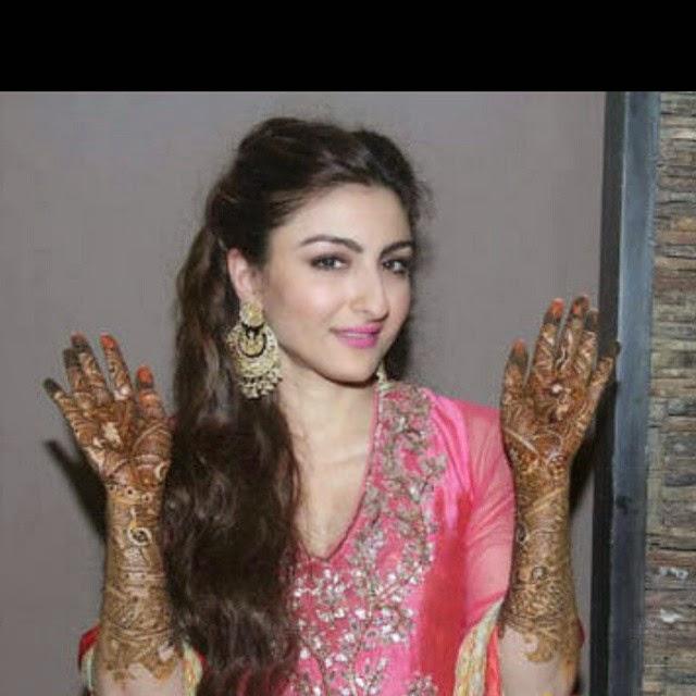 , Soha Ali Khan Mehendi Ceremony Photo Gallery