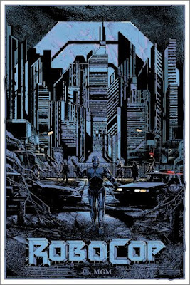 RoboCop Standard Edition Screen Print by Kilian Eng x Grey Matter Art