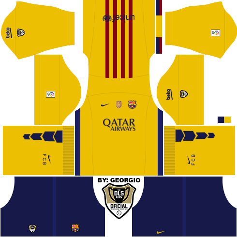 dream league soccer kits barcelona 15 16 dls16 fts by