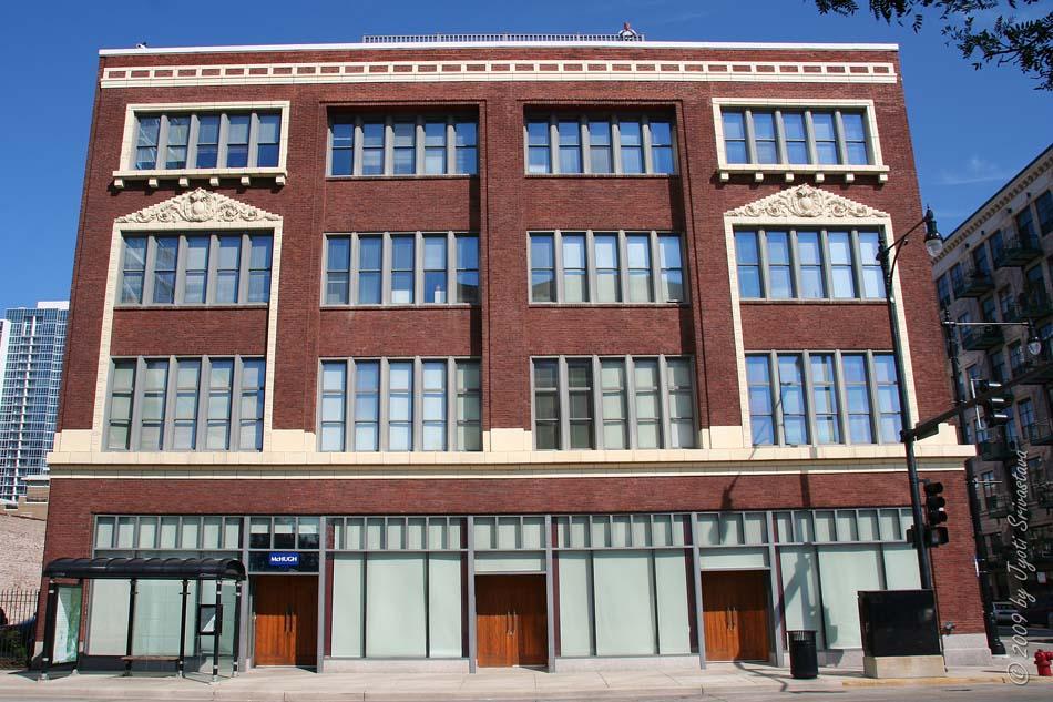 Architect Ernest Walker The Building Has Been Designated A Chicago Landmark In 2000 Listed National Register 2002