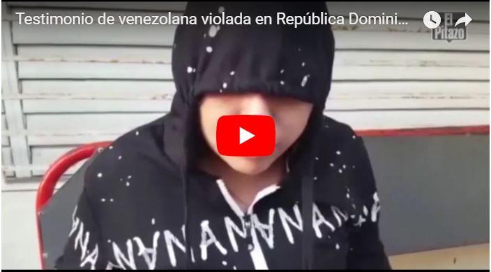 Venezolana cuenta una extraña historia tras ser abusada entre 8 en República Dominicana
